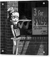 Betty Boop 1 Acrylic Print by Frank Romeo