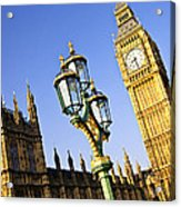 Big Ben And Palace Of Westminster Acrylic Print