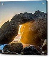 Big Sur Sunbeam Acrylic Print