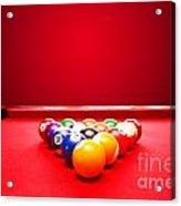 Billards Pool Game Acrylic Print