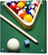 Billiards Acrylic Print