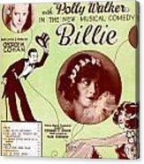 Billie Acrylic Print