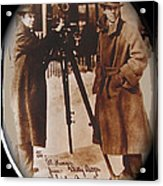 Billy Bitzer D.w. Griffith Pathe Camera Way Down East 1920-2013 Acrylic Print