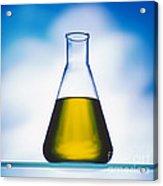 Biodiesel In Erlenmeyer Flask  Acrylic Print