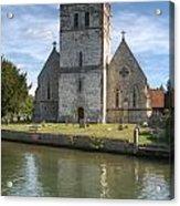 Bisham Church Acrylic Print