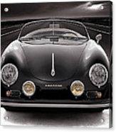 Black Porsche Speedster Acrylic Print