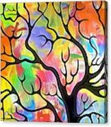 Black Tree Acrylic Print