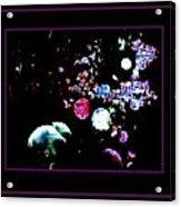 Blackberry Space  Acrylic Print