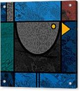 Blackbird Acrylic Print by Kenneth North