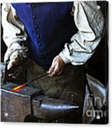 Blacksmith At The Old Fort Acrylic Print