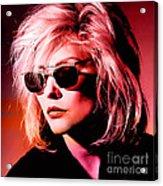 Blondie Debbie Harry Acrylic Print