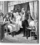 Blood Transfusion, 1874 Acrylic Print