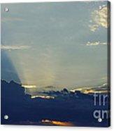 Blu-ray Sunset 2 Acrylic Print