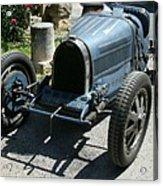 Blue Bugatti Oldtimer Acrylic Print