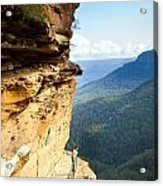 Blue Mountains Walkway Acrylic Print