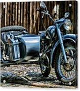 Bmw 500 Sidecar Acrylic Print
