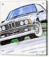 Bmw E23 Acrylic Print