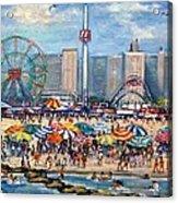Boardwalk New Jersey Acrylic Print