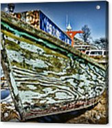 Boat Forever Dry Docked Acrylic Print