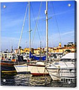 Boats At St.tropez Acrylic Print