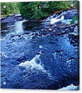 Bog River Falls Acrylic Print