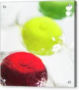 Boiled Sweets Acrylic Print