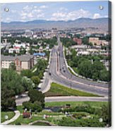 Boise From Boise Depot Tower Acrylic Print