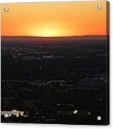 Boise Id Sunset Acrylic Print