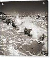 Bolonia Waves Acrylic Print