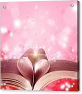 Book Love Acrylic Print