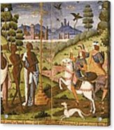 Book Of Hours For Charles V. 16th C Acrylic Print