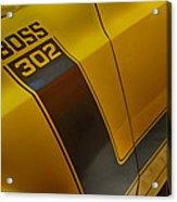 Boss 302 Acrylic Print