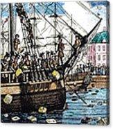 Boston Tea Party, 1773 Acrylic Print by Granger
