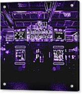 Bottleneck Blues Bar Acrylic Print