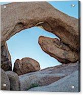 Boulders In A Desert, Joshua Tree Acrylic Print