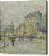 Boulevard De Clichy Acrylic Print