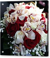 Bouquets Of Flowers For The Bride To The Wedding Acrylic Print