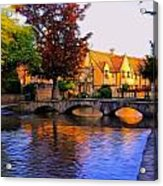 Bourton On The Water Acrylic Print