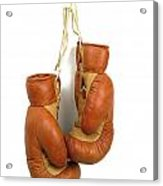 Boxing Gloves Acrylic Print