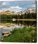 Brainard Lake Reflections Acrylic Print