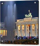 Brandenburger Tor Acrylic Print
