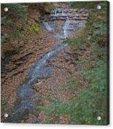 Bridal Vail Falls - Cvnp Acrylic Print