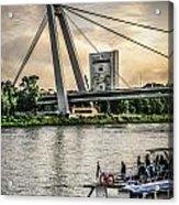 Bratislava Bridge Acrylic Print