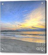 Breach Inlet Sunrise Acrylic Print