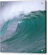 Breaking Wave North Shore Hawaii Acrylic Print