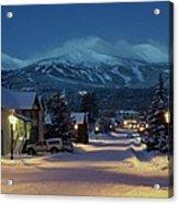 Breckenridge Colorado Morning Acrylic Print