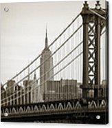 Bridge From The Bridge Acrylic Print