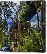Bridge Acrylic Print by Nelson Watkins
