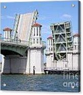 Bridge Of Lions St Augustine Florida Acrylic Print