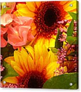 Bright Spring Flowers Acrylic Print